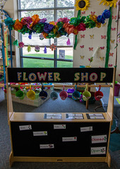 Flower Shop at the Library