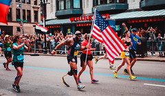 Staff Sergeant Jose Luis Sanchez running the 2017 Boston Marathon (ryanoshea) Tags: 2017 50mm 50mmf14 50mmf14g backbay boston bostonmarathon bostonmarathon2017 d610 nikkor nikond610 people athletes athletics f14 f14g marathon nikon running sports spring massachusetts unitedstates us