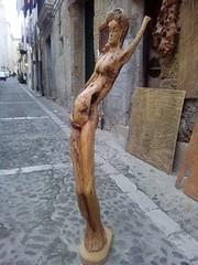 Sicilia...Cefalù.. bottega di un scultore...radice di ulivo (Pascal Guercio) Tags: cefalù