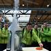 Wasserstoffrakete am DLR Stand