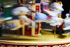 Carousel Blur (WilliamND4) Tags: intentionalblur macromondays nikon d810 tokina100mmf28atxprod blur motion carousel toy