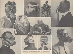 The gas mask: an illustrated digest of the history and development of the military gas mask (GovdocsGwen) Tags: gasmasks chemicalwarfareservice wardepartment