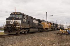 NS 17G (Dan A. Davis) Tags: freighttrain railroad locomotive train pa pennsylvania langhorne up unionpacific c45accte