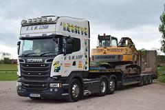 MV15RUC  E&M Losh, Southwaite (highlandreiver) Tags: mv15ruc mv15 ruc em losh transport haulage scania truck lorry wagon southwaite carlisle cumbria minions despicable me
