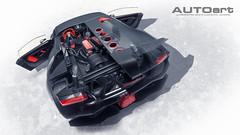 Lamborghini Sesto Elemento CUtaway (Zuugnap) Tags: tlphotographynl tjeulinssen zuugnap autoart lamborghinisestoelemento sesto lamborghini cutaway