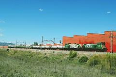 Mi primer herbicida (pipeviii) Tags: herbicida adif 310012 310007 310 pinardelasrozas mantenimiento tractormaniobras pinar d3300 nikon