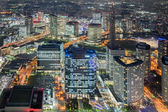 20161117-45LR.jpg (David S.M.) Tags: tokyo skyscrapers night nightscape lights buildings lighttrail cityscape city travel sonya7 canonef24105mmf4lisusm japan asia yokohama