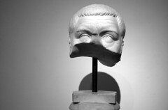 Fragmentary head of Roman Emperor Maximinus Thrax, from the Antiquarium of the Palatine, Rome (Historystack) Tags: deaths romanempire romanemperors historyofitaly ancientrome government earth europe 3thcentury may10 murders solarsystem listofromanemperors maximinusthrax gordianiii year238 230s milkyway assassinations