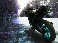 IMG_20170328_195927 (rolling2wheels) Tags: fazer153cc fazernfi fazermodified modified modification cosmeticmods performancemods motorcycle 2wheels motorcyclemods stickerbomb asthetic bigb