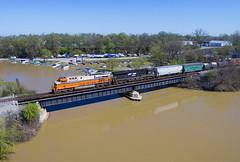 NS 149 Vermilion, OH (Nolan Majcher) Tags: ns 8105 norfolk southern 149 interstate heritage vermilion oh ohio