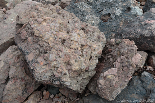 Andesite agglomerate