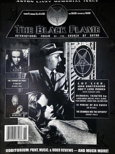 Black Flame Vol 6 No 3 & 4 (2000)