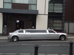 Stretched limo's - Holliday Street (ell brown) Tags: greatbritain wedding england car birmingham unitedkingdom limousine westmidlands registeroffice stretchedlimo hollidayst