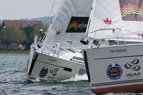 Qualifying Day 1 - Alpari World Match Racing Tour 2013