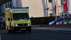 North West Ambulance Service Call out (sab89) Tags: blue west out lights call north ambulance health national birkenhead trust service emergency nht gva dn08 dn08gva