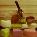 Estudiando la luz, con dulces detalles de amor. Cocina, Origami y piano .Sugarelf y Sahumerio Love. Ana Ruth Rivera
