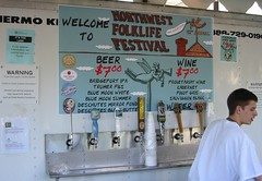 Beverage Prices Up From Last Year (jiff89) Tags: seattle music beer festival price northwest wine center may24 friday folklife 2013