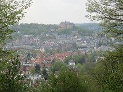 View (Jeff Coons) Tags: travel forest canon germany deutschland is europe hiking hike powershot hills marburg wandern lahn wander sd940
