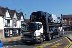 Scania P420 - Listers Group - Car Transporter - Van Transporter - 11705cc - MX55WMC (davidshrimpton60) Tags: cartransporter scaniap420 listersgroup vantransporter mx55wmc