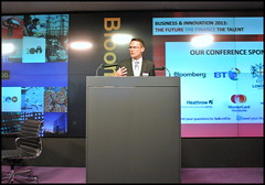 David Stokes, Chief Executive UK & Ireland, IBM, moderated gave a keynote speech on 'Is innovation Important'.