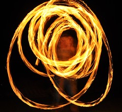 Night - Fire Poi 3 (Jim Carroll 2) Tags: night