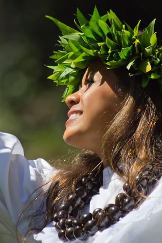 Portrait of a Hula Dancer