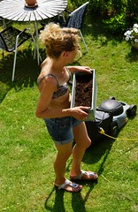 Gardening (osto) Tags: woman denmark europa europe sony zealand tina scandinavia danmark slt a77 sjlland  osto alpha77 osto july2013