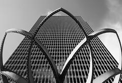 sculpted (eb78) Tags: sf sanfrancisco california ca blackandwhite monochrome architecture embarcadero grayscale greyscale embarcaderocenter