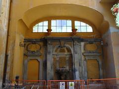 Monserrato 154 (Via) - Palazzo Bossi 04 (Fontaines de Rome) Tags: rome roma fountain brunnen fuente via font fountains palazzo fontana fontaine rom fuentes bron 154 bossi fontane monserrato fontaines viadimonserrato viadimonserrato154 palazzobossi