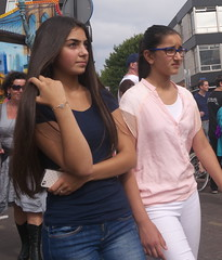 Jeans girl (Zangeressenlive) Tags: street sexy candid jeans denim tight kermis