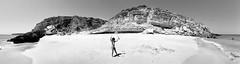 the maestro (António Alfarroba) Tags: praia beach portugal kid panoramic panoramica criança algarve viladobispo