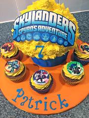 Skylanders Giant Cupcake