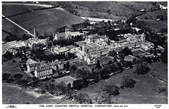 Joint Counties Mental Hospital, Carmarthen (robmcrorie) Tags: uk england history wales hospital patient medical health national doctor nhs service british nurse lunatic asylum healthcare joint illness mental counties institution carmarthen