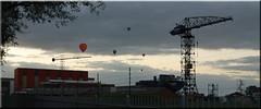 '130831 high tech werf (creating more portraits...) Tags: wolken avond lucht foxhol hoogezand luchtballonen