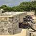 I cannoni del Fuerte de San Miguel