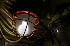 Leave A Light On (Lorne Thomas) Tags: california lighting light lightbulb losangeles nikon submarine longbeach thescorpion sovietsubmarine lightdecay nikond800e sigma35mmf14dg