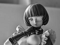 Ryomou Shimei (unfergiven65) Tags: blackwhite manga hdr ikkitousen battlevixens ryomoushimei