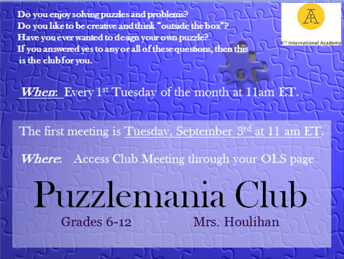 iCademy Club_Puzzlemania