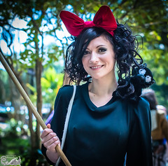 The Nicest Witch at AWA (Mike Wyner) Tags: black nikon pretty cosplay witch bow awa d800 animeweekendatlanta