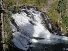 Lewis Falls (7) (Waterfalling in Wisconsin) Tags: park river waterfall lewis falls national yellowstone