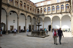 Parador de Santiago - Hostal dos Reis Catlicos (walker_bc) Tags: travel canon spain europe sigma santiagodecompostela sigmalens canon60d