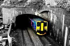 150232 - Dawlish (danny444043) Tags: sea west wall south great first tunnel devon western dawlish kennaway fgw 150232