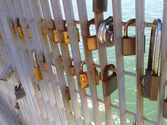 Love locks on Wellington Waterfront (Jacqi B) Tags: newzealand nz wellington locks aotearoa padlocks lovelocks wellingtonwaterfront lunchtimewalks