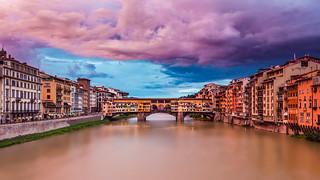 Ponte Vecchio Sunset (Florence, Italy)