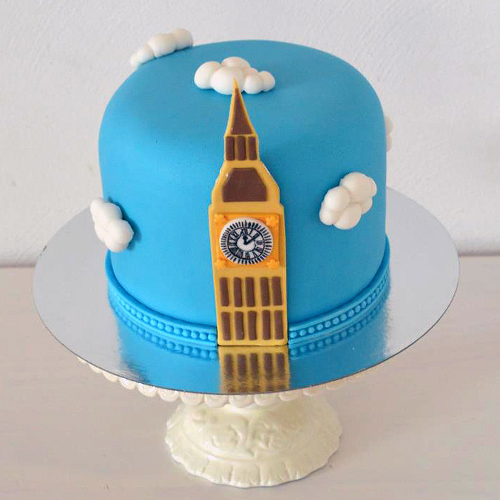 how to make a big ben birthday cake