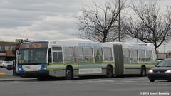 STM - Société de transport de Montréal (Gerard Donnelly) Tags: bus montreal stm autobus artic articulated novabus