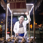 "<b>The Late Night Vendor</b><br/> Malta & the Mediterranean, spring 2013, photo by G.V. Suos. Chestnut sellers enjoyed Turkish music at almost midnight time in Istanbul Park. This place was crowded with protestors a few weeks after this photo was taken.  <a href=""//farm3.static.flickr.com/2890/10872481756_cc3ea9e028_o.jpg"" title=""High res"">∝</a>"
