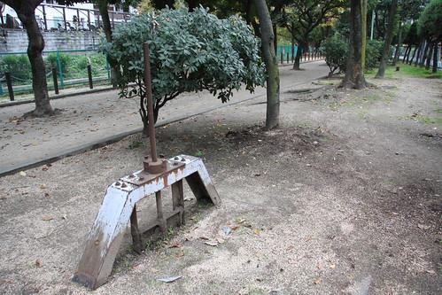 埋まった樋門