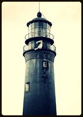 Bridal 2011', longing bride atop the lighthouse