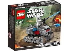 2014 NEW LEGO STAR WARS MICROFIGHTERS SET 75028 Clone Turbo Tank (Customs Overload) Tags: new set star tank lego turbo wars clone 2014 75028 microfighters